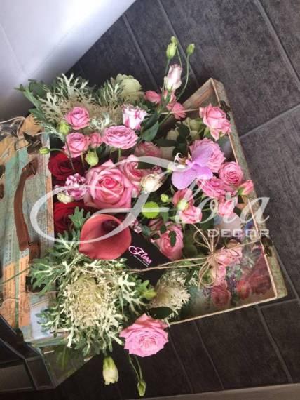 Куфар с цветя