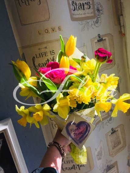 Букет Пролетен аромат