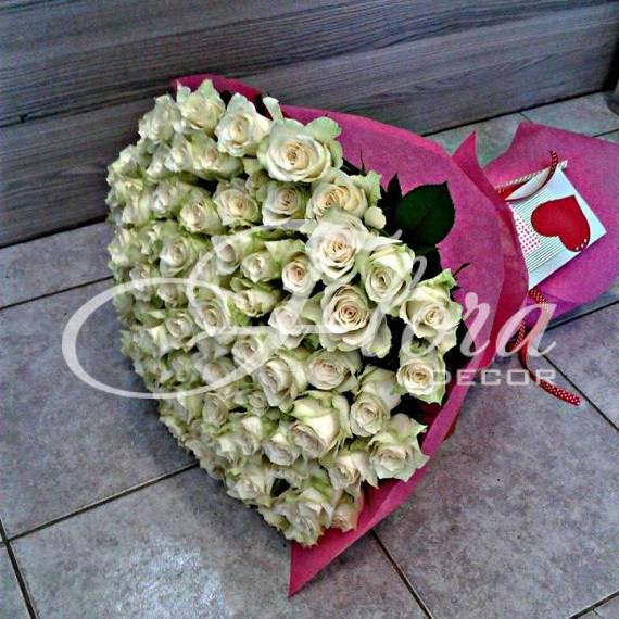 Букет от 101 рози